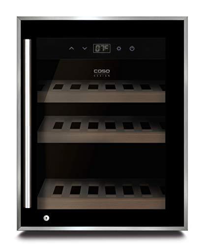 CASO WineSafe 12 black Design Weinkühlschrank