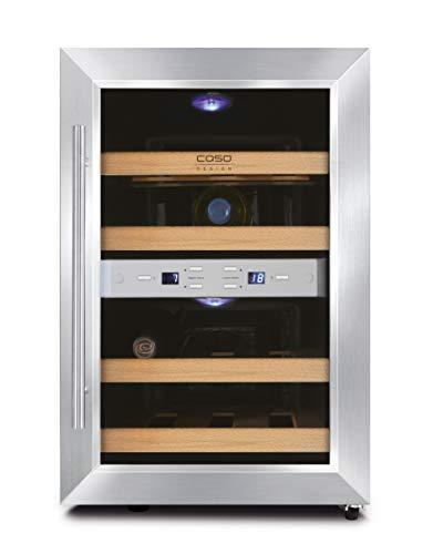 CASO WineDuett 12 Design Weinkühlschrank