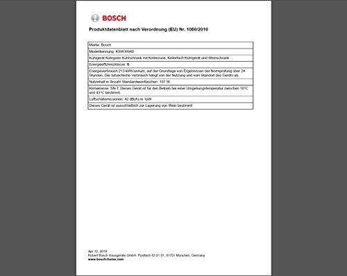 Bosch KSW38940 Weinkühlschrank - 3