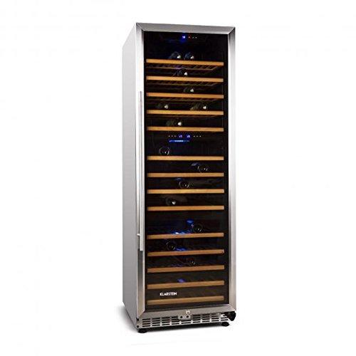 Klarstein Gran Reserva Design (3 Zonen / 144 Weinflaschen) Weinkühlschrank