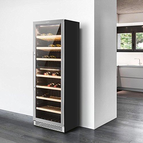 Entzuckend Klarstein Gran Reserva Design (2 Zonen / 180 Weinflaschen) Weinkühlschrank    3