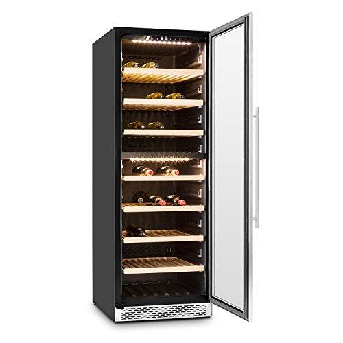 Klarstein Gran Reserva Design (2 Zonen / 180 Weinflaschen) Weinkühlschrank - 5