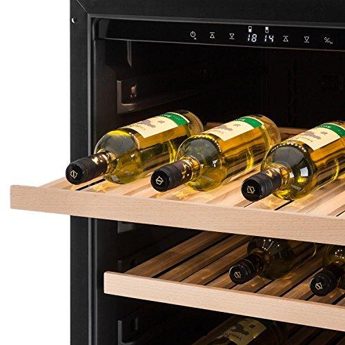 Klarstein Gran Reserva Design (2 Zonen / 180 Weinflaschen) Weinkühlschrank - 6